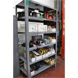 """Large Heavy Duty Steel Rack 24"""" x 48"""" x 84"""" with Wire and Electircal Supplies"""