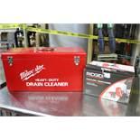 (1) Milwaukee Heavy Duty Drain Cleaner / (1) Ridgid Power Drain Cleaner