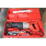 Milwaukee Sawzall Recipricating Saw with Case and misc. Blades