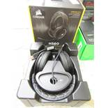 Corsair - HS60 Surround Sound Stereo Gaming Headset with 7.1 Surround Sound - Tested Working for