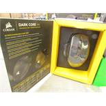 Corsair - Dark Core RGB Performance Wired/Wireless Gaming Mouse - Tested Working & Boxed.