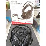 Hyper X - Cloud Revolvers 5 pro Gaming Headset - Tested Working for Sound & Boxed.