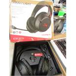 Hyper X - Cloud Flight Wireless Gaming Headset - Tested Working For Sound & Boxed.