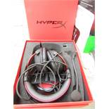 Hyper X - Cloud 2 Pro Gaming Headset - Tested Working for Sound & Boxed.
