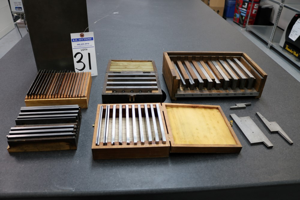 8 x 10 and 8 x 12 Angle Plasts. Large Lot of Parrellels Various Sizes - Image 11 of 11