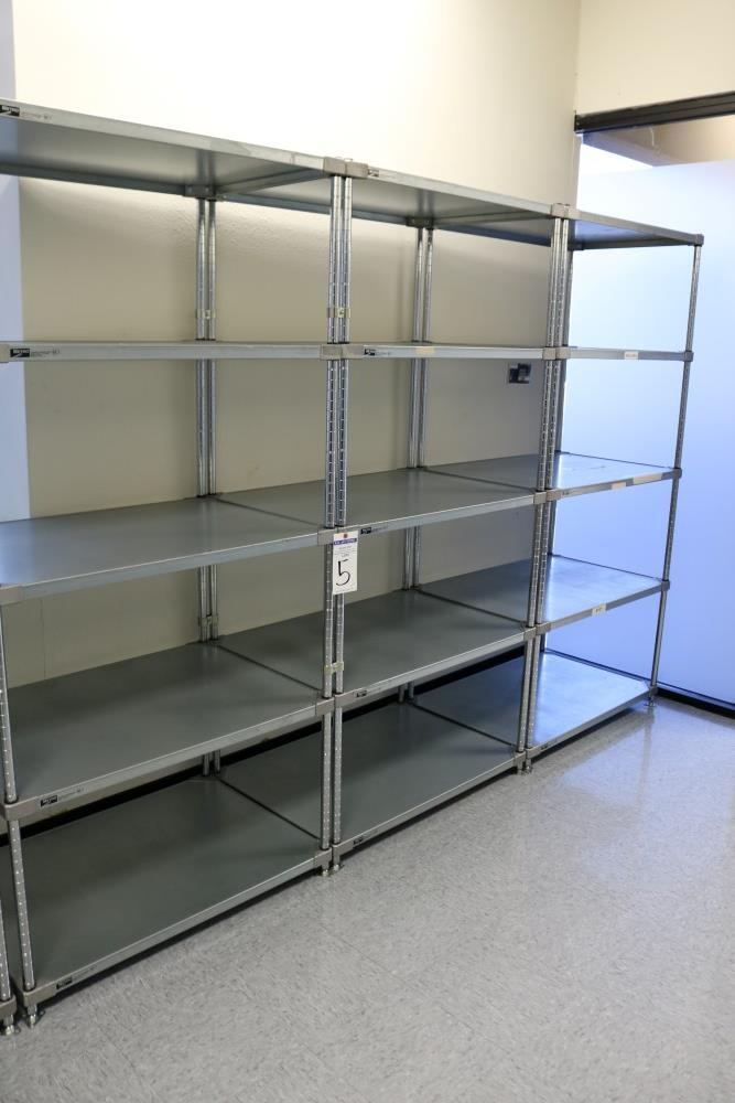 """(3) 24"""" x 36"""" x 75"""" Metro 5 Tier, Heavy Duty Metal Racks (Made in the USA) - Image 6 of 8"""