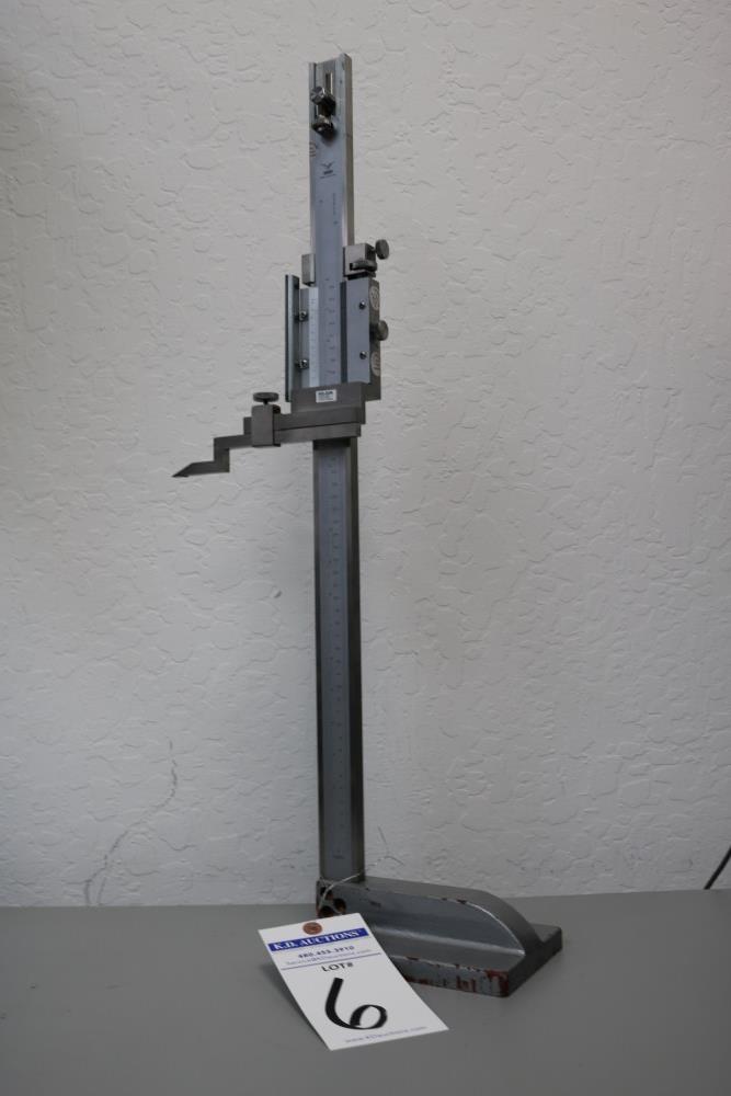 "Draper 0.001 - 18"" Height Vernier Gage - Image 7 of 7"