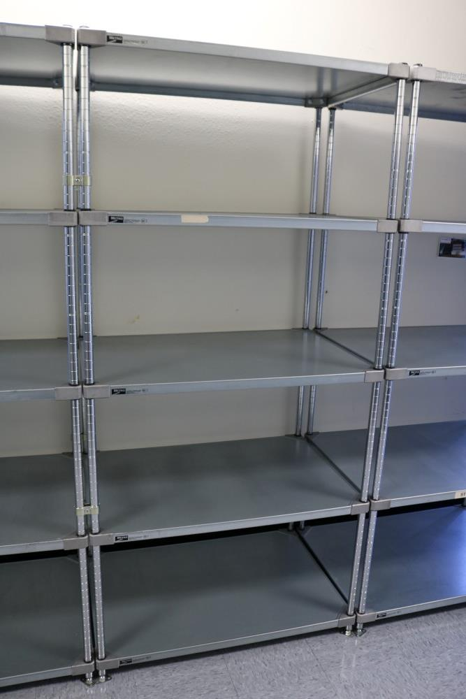 """(3) 24"""" x 36"""" x 75"""" Metro 5 Tier, Heavy Duty Metal Racks (Made in the USA) - Image 3 of 8"""
