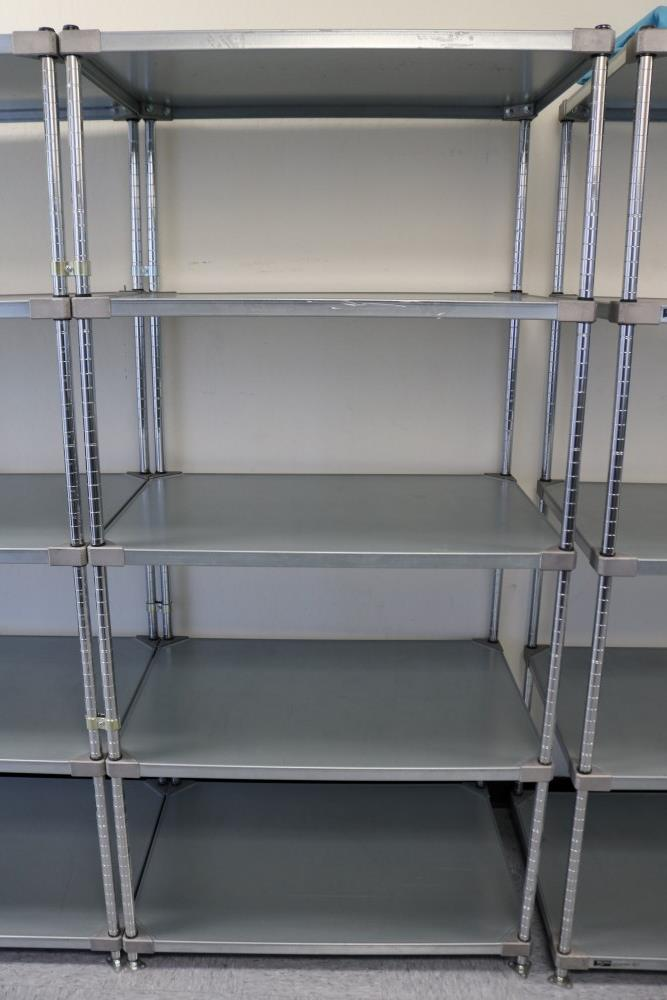 """(2) 24"""" x 36"""" x 75"""" Metro 5 Tier, Heavy Duty Metal Racks (Made in the USA) - Image 3 of 4"""