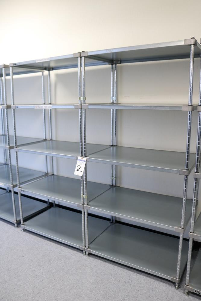 """(2) 24"""" x 36"""" x 75"""" Metro 5 Tier, Heavy Duty Metal Racks (Made in the USA) - Image 4 of 4"""
