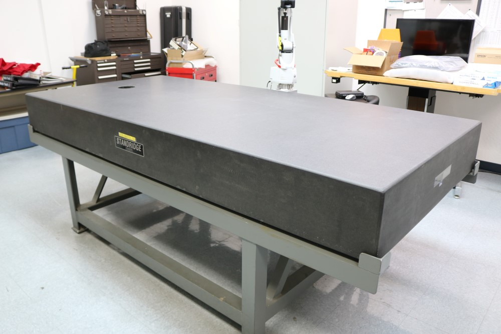 Standridge ISO 9000 Certified Grade AA, Black Granite Inspection Table. Accuracy as of 5/14/20 +/- - Image 4 of 9