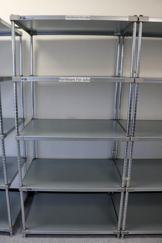 """(2) 24"""" x 36"""" x 75"""" Metro 5 Tier, Heavy Duty Metal Racks (Made in the USA) - Image 2 of 4"""