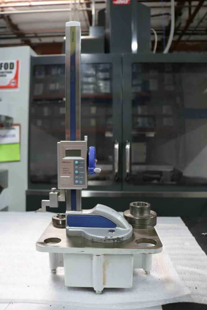 """Mitutoyo Absolute Digimatic Height Gage, 0.001 - 12"""" with Tool Setter Stand"""