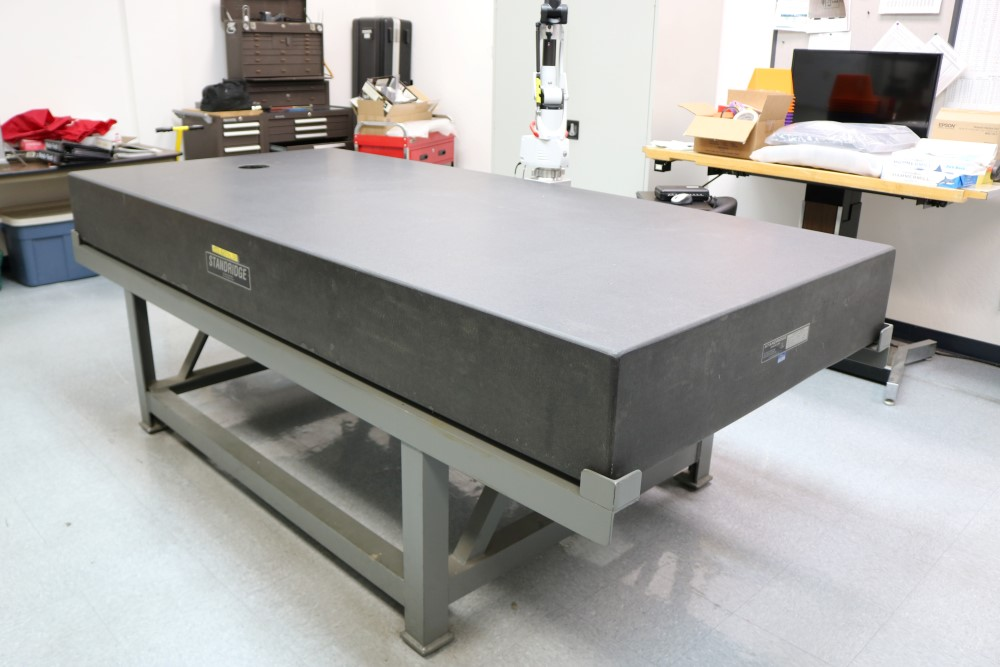 Standridge ISO 9000 Certified Grade AA, Black Granite Inspection Table. Accuracy as of 5/14/20 +/- - Image 6 of 9