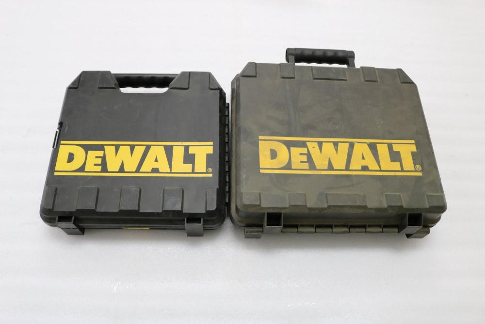 """Lot 48 - Dewalt DW317 VS Orbital Jig Saw, 1"""" Stroke in Box. Dewalt Heavy Duty 3/8"""" VSR Drill Model DWD110"""