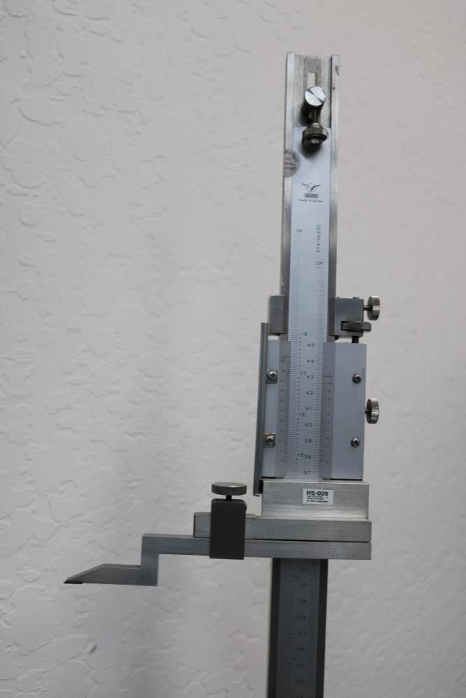 "Draper 0.001 - 18"" Height Vernier Gage - Image 6 of 7"