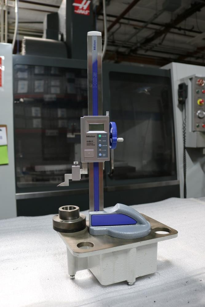 """Mitutoyo Absolute Digimatic Height Gage, 0.001 - 12"""" with Tool Setter Stand - Image 3 of 6"""