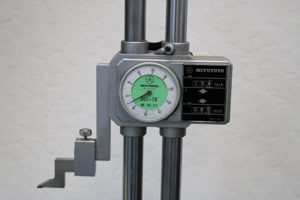 """Lot 7 - Mitutoyo 0.001 - 18"""" Height Gage"""