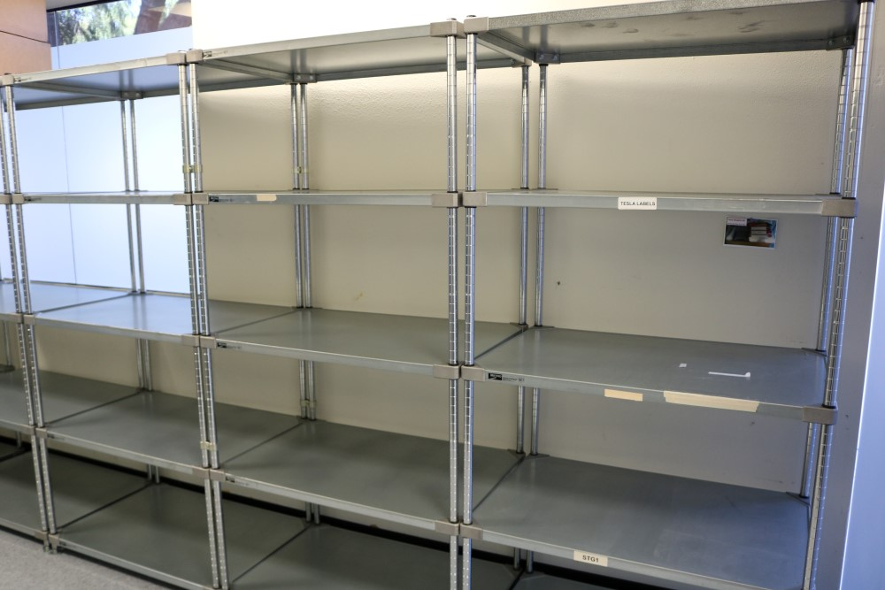 """(3) 24"""" x 36"""" x 75"""" Metro 5 Tier, Heavy Duty Metal Racks (Made in the USA) - Image 5 of 8"""