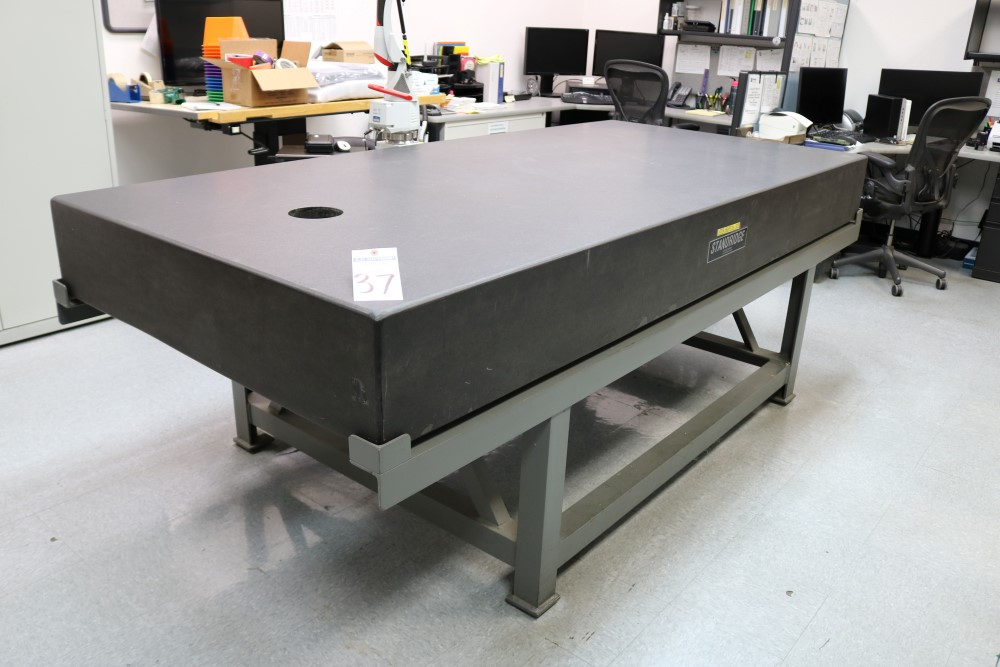 Standridge ISO 9000 Certified Grade AA, Black Granite Inspection Table. Accuracy as of 5/14/20 +/- - Image 9 of 9