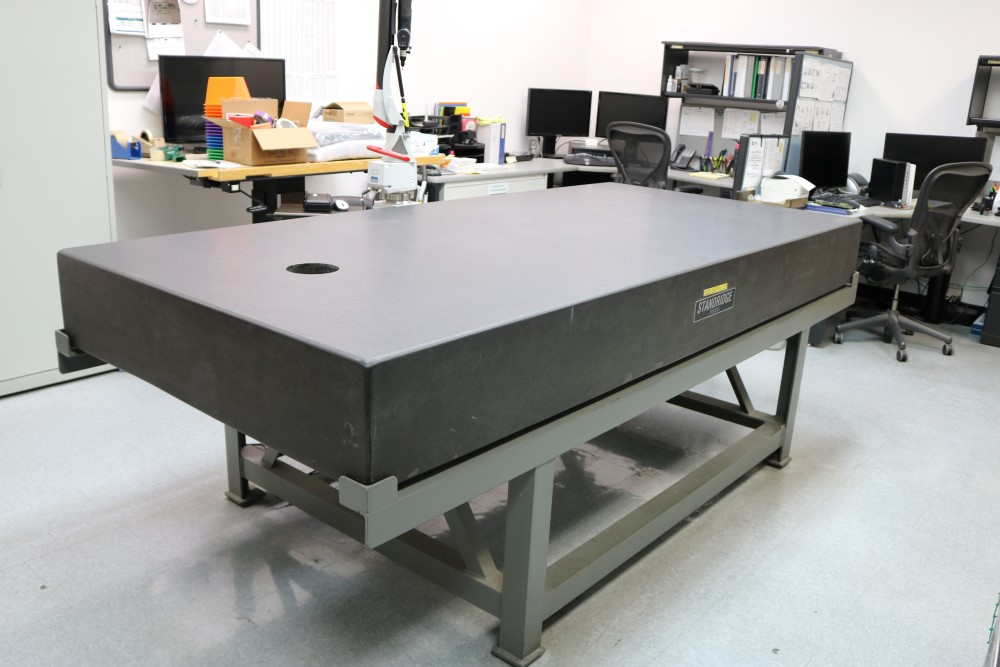 Standridge ISO 9000 Certified Grade AA, Black Granite Inspection Table. Accuracy as of 5/14/20 +/-