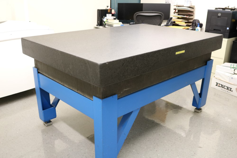 "4' x 6' x 6.5"" Standridge Grade AA Black Granite Surface Plate. Accuracy 0.00015 Repeat - Image 4 of 5"