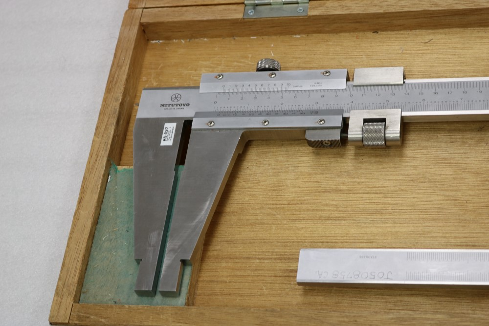 "Mitutoyo 0.001 - 40"" and 0.001 - 24"" ID/OD Vernier Calipers - Image 2 of 8"