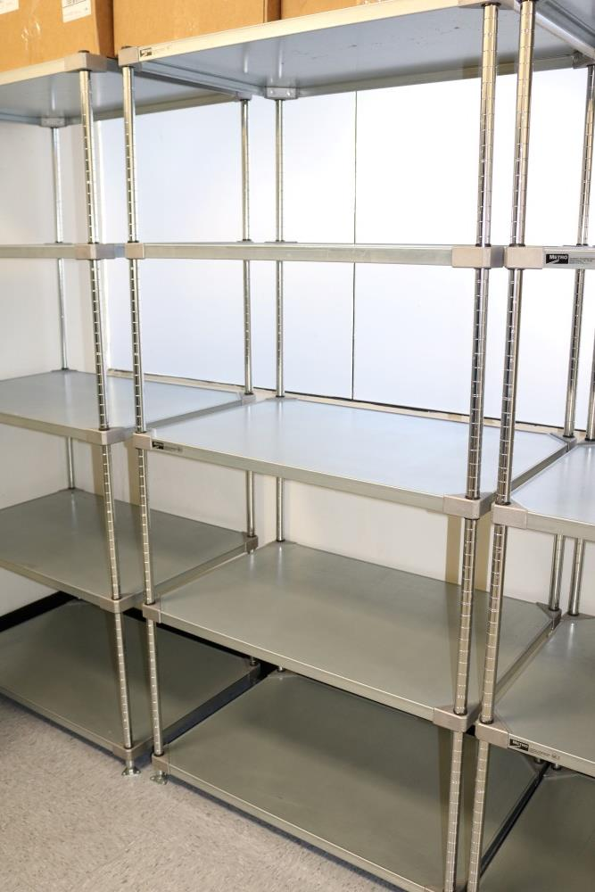 "(2) 24"" x 36"" x 75"" Metro 5 Tier, Heavy Duty Metal Racks (Made in the USA) - Image 4 of 5"