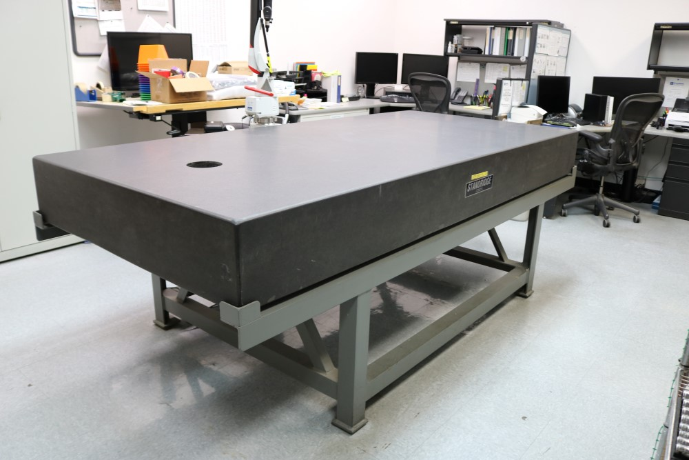 Standridge ISO 9000 Certified Grade AA, Black Granite Inspection Table. Accuracy as of 5/14/20 +/- - Image 8 of 9