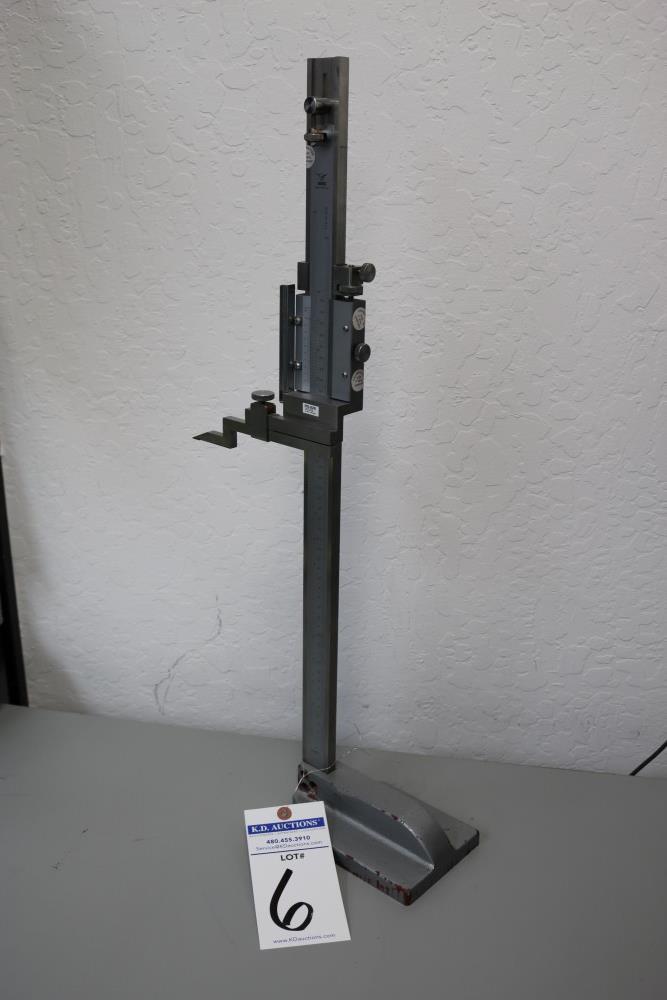 "Draper 0.001 - 18"" Height Vernier Gage - Image 5 of 7"