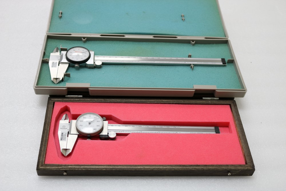 """Mitutoyo 0.001 - 6"""" Dial Caliper and Mitutoyo 0.001 - 8"""" Dial Caliper - Image 6 of 7"""
