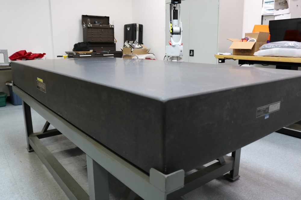 Standridge ISO 9000 Certified Grade AA, Black Granite Inspection Table. Accuracy as of 5/14/20 +/- - Image 5 of 9