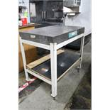 Standridge Granite Inspection Table on Stand 2' x 3' x 4""