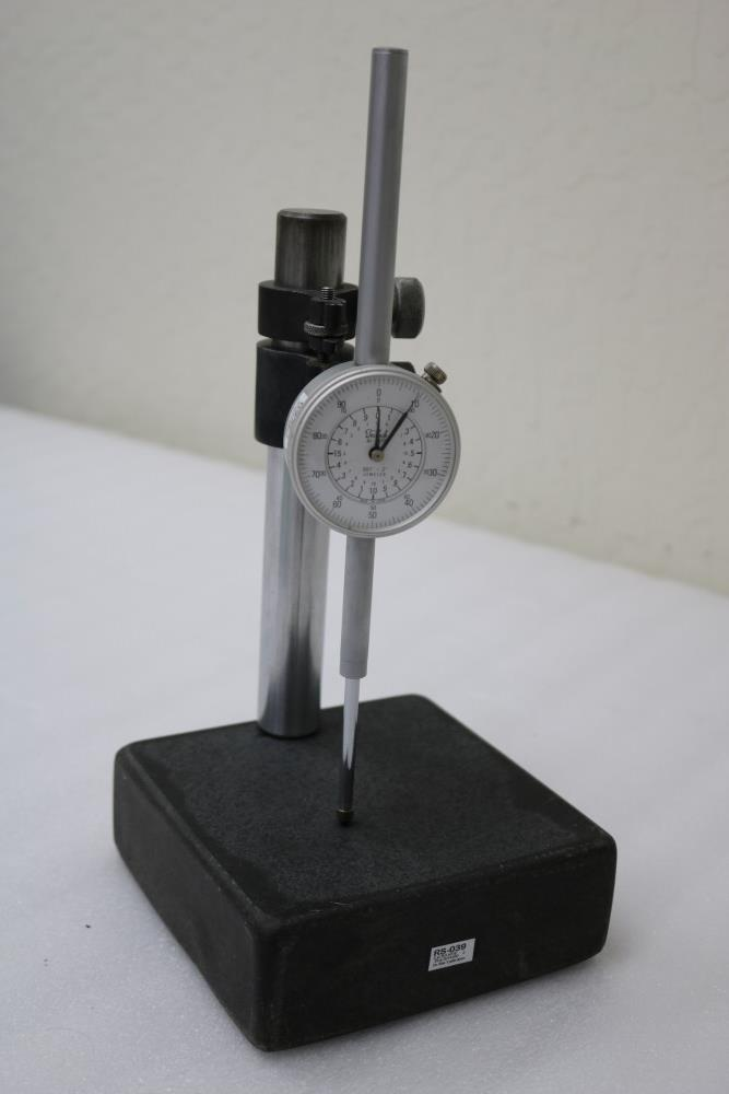 """Mitutoyo 0.001 - 12"""" ID./OD Dial Calipers and Teclock 0.001 - 2"""" Dial Drop Indicator with Black - Image 5 of 8"""