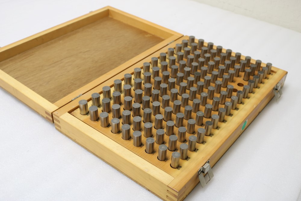 Meyer Pin Gage Set, M3 501-625 Missing 521 and 520 - Image 3 of 3