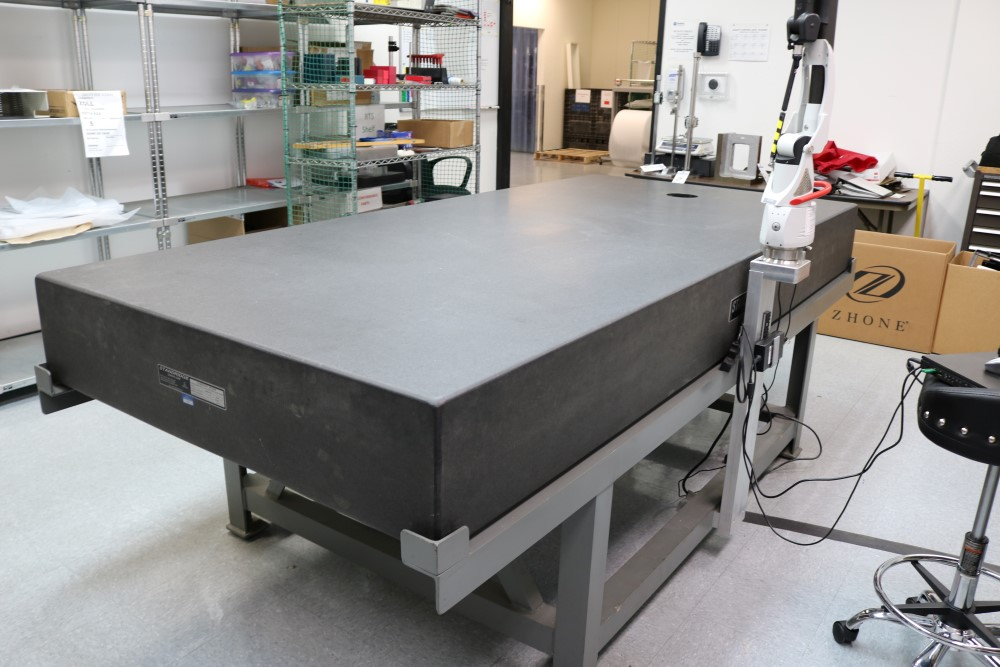 Standridge ISO 9000 Certified Grade AA, Black Granite Inspection Table. Accuracy as of 5/14/20 +/- - Image 7 of 9
