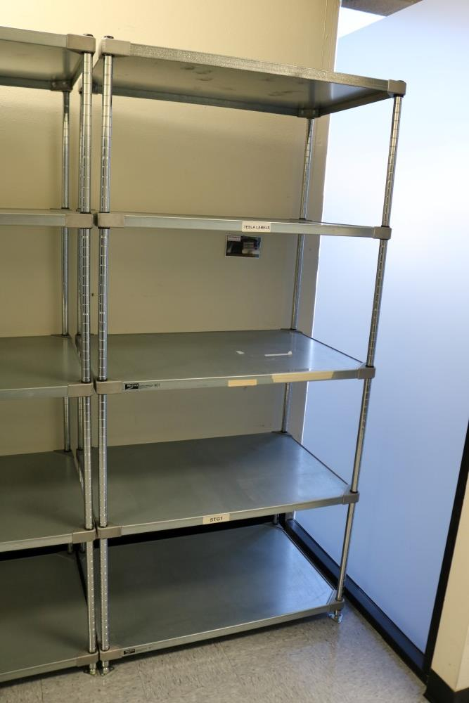 """(3) 24"""" x 36"""" x 75"""" Metro 5 Tier, Heavy Duty Metal Racks (Made in the USA) - Image 4 of 8"""