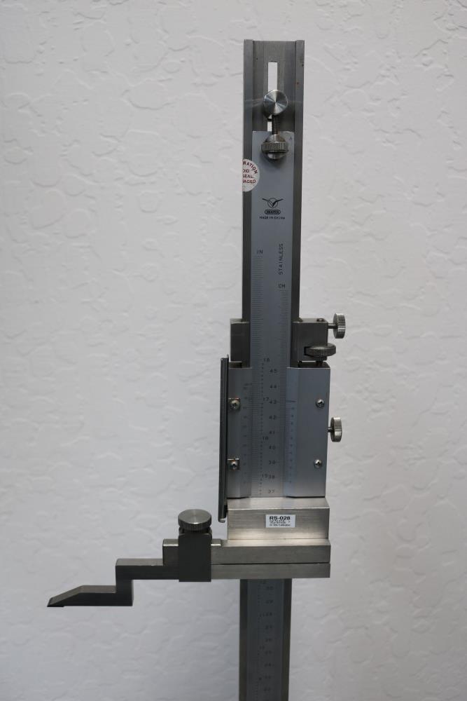 "Draper 0.001 - 18"" Height Vernier Gage - Image 2 of 7"
