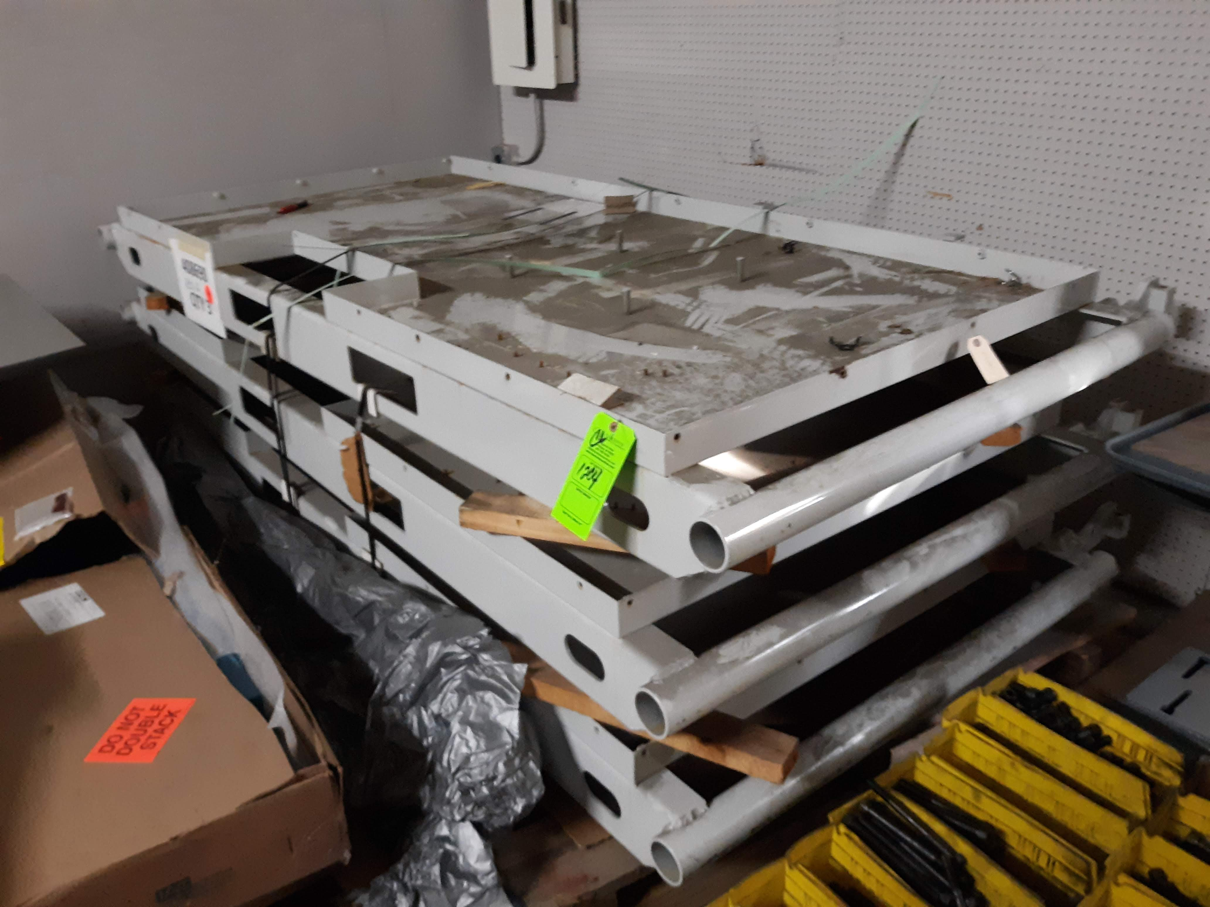 (3) STEEL MACHINE BASES (LOCATED AT: 432 COUNCIL DRIVE, FORT WAYNE, IN 46825)