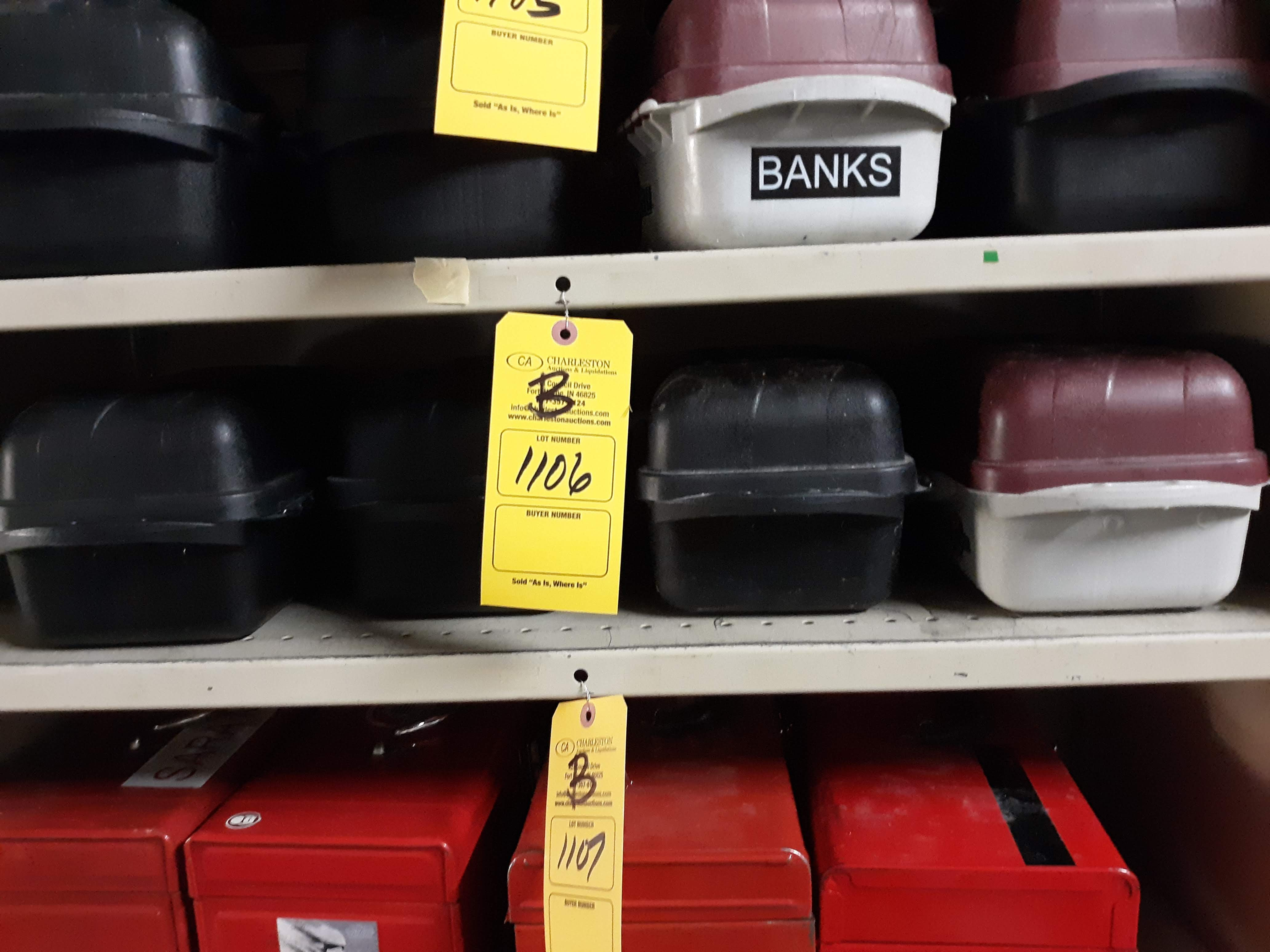 (4) PLASTIC TOOL BOX/ TACKLE BOXES (LOCATED AT: 432 COUNCIL DRIVE, FORT WAYNE, IN 46825)