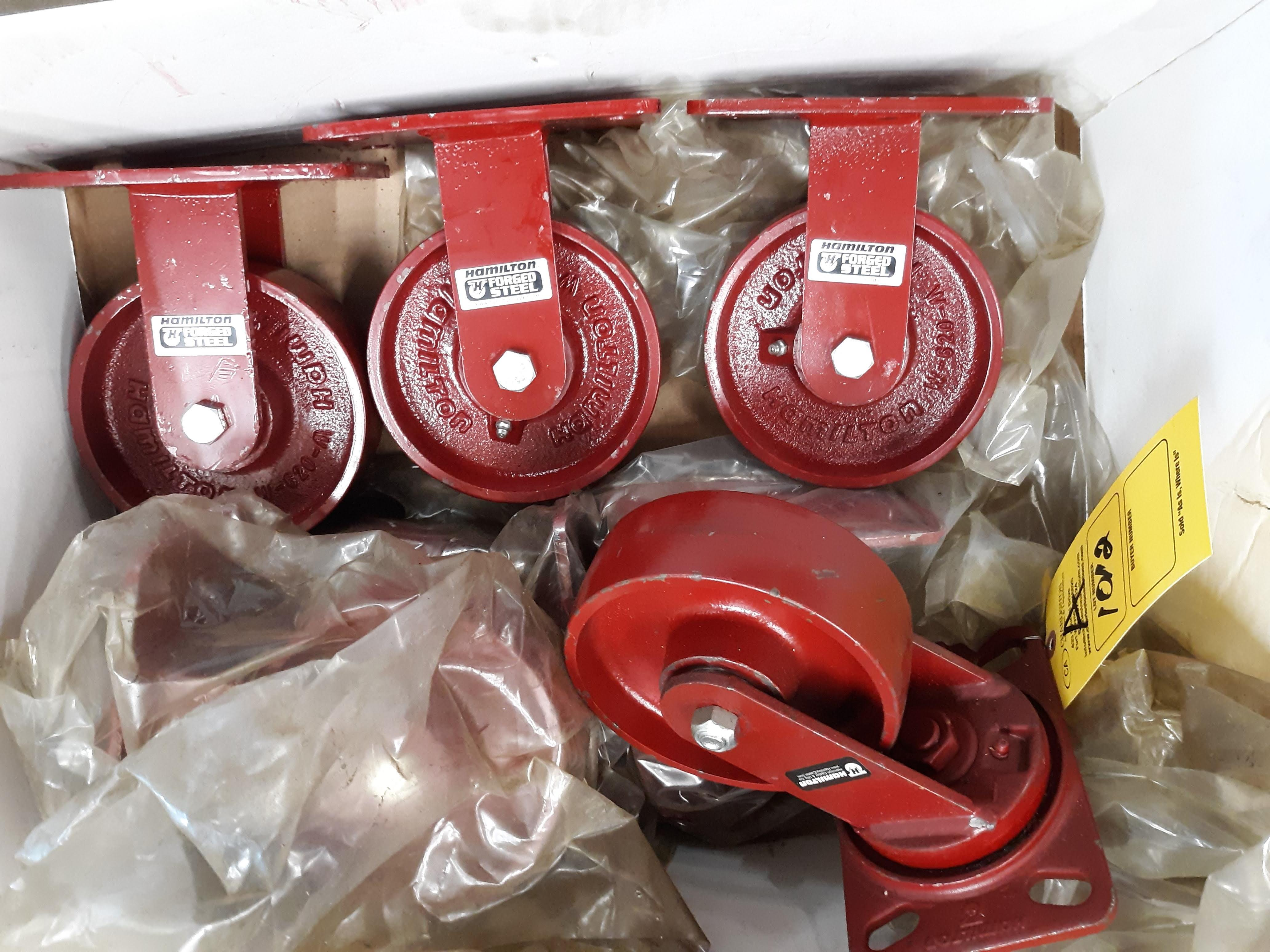 (7) STEEL CASTERS (LOCATED AT: 432 COUNCIL DRIVE, FORT WAYNE, IN 46825) - Image 2 of 2