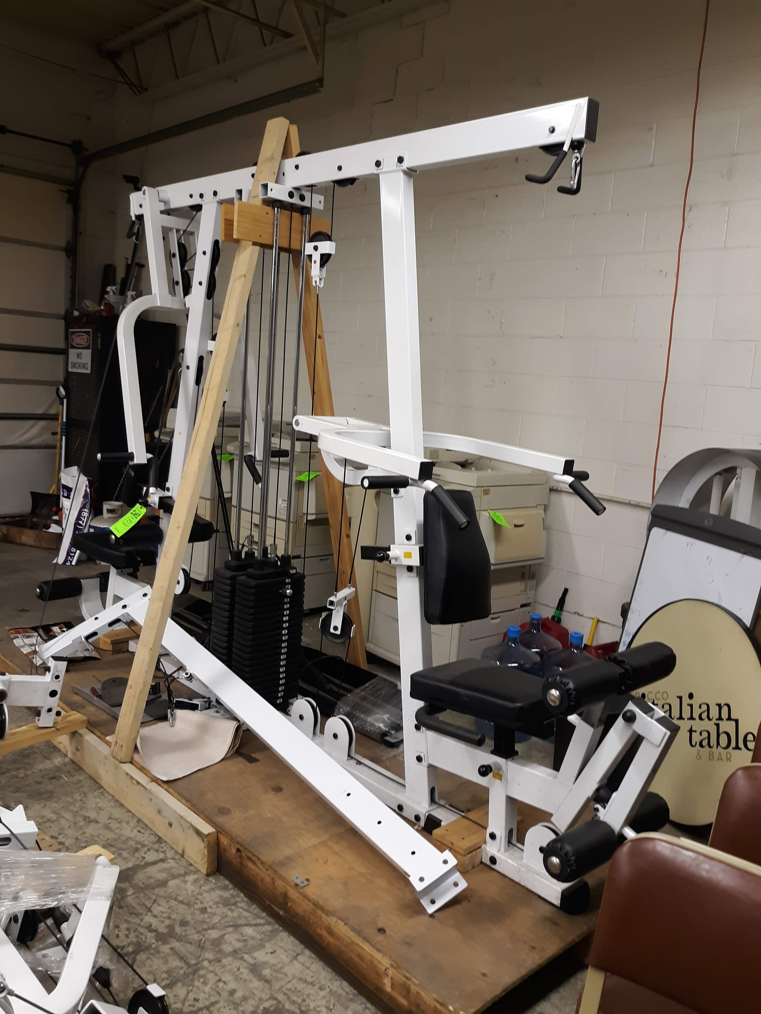 BODY SOLID EXM4000S ULTIMAT TRIPLE STACK HOME GYM PACKAGE (AS PICTURED)(LOCATED AT: 433 COUNCIL - Image 6 of 9