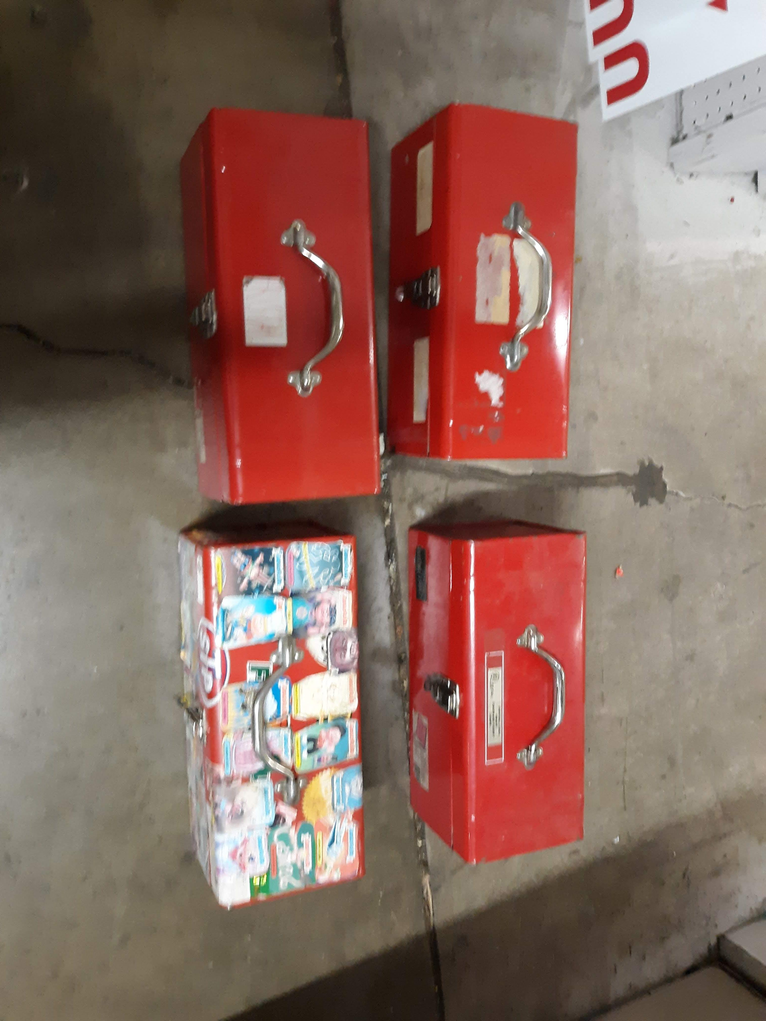 Lot 1109 - (4) TOOL BOXES (LOCATED AT: 432 COUNCIL DRIVE, FORT WAYNE, IN 46825)