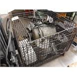 BASKET & LARGE MOTORS (TAG UNREADABLE) (LOCATED AT: 432 COUNCIL DRIVE, FORT WAYNE, IN 46825)