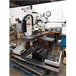 FRYER CNC MILLING MACHINE MODEL-MB-14 S#14247 54 X 16 TABLE ANILAM 3300 MK DRO (LOCATED AT: 432