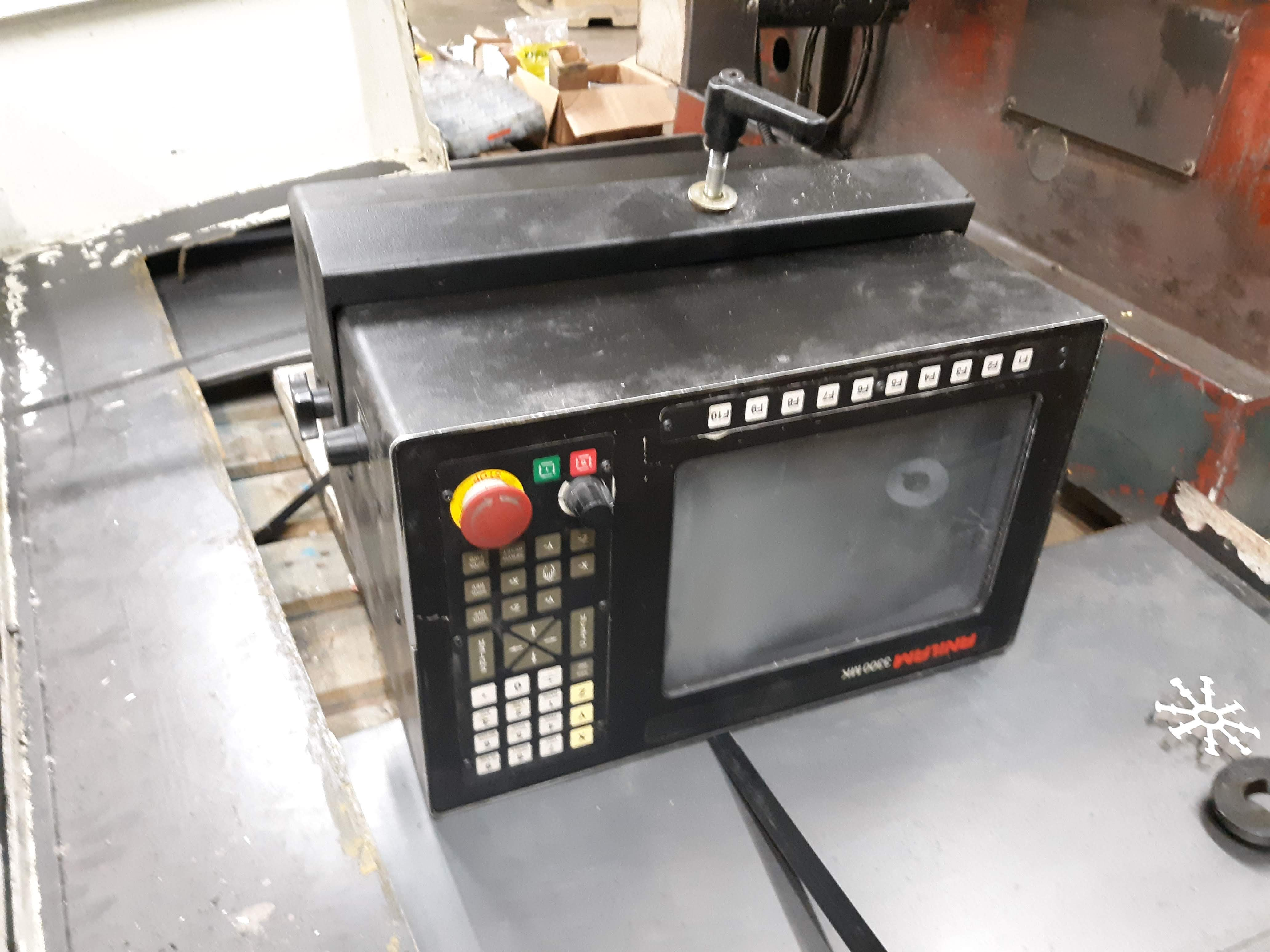 FRYER CNC MILLING MACHINE MODEL-MB-14 S#14247 54 X 16 TABLE ANILAM 3300 MK DRO (LOCATED AT: 432 - Image 2 of 8