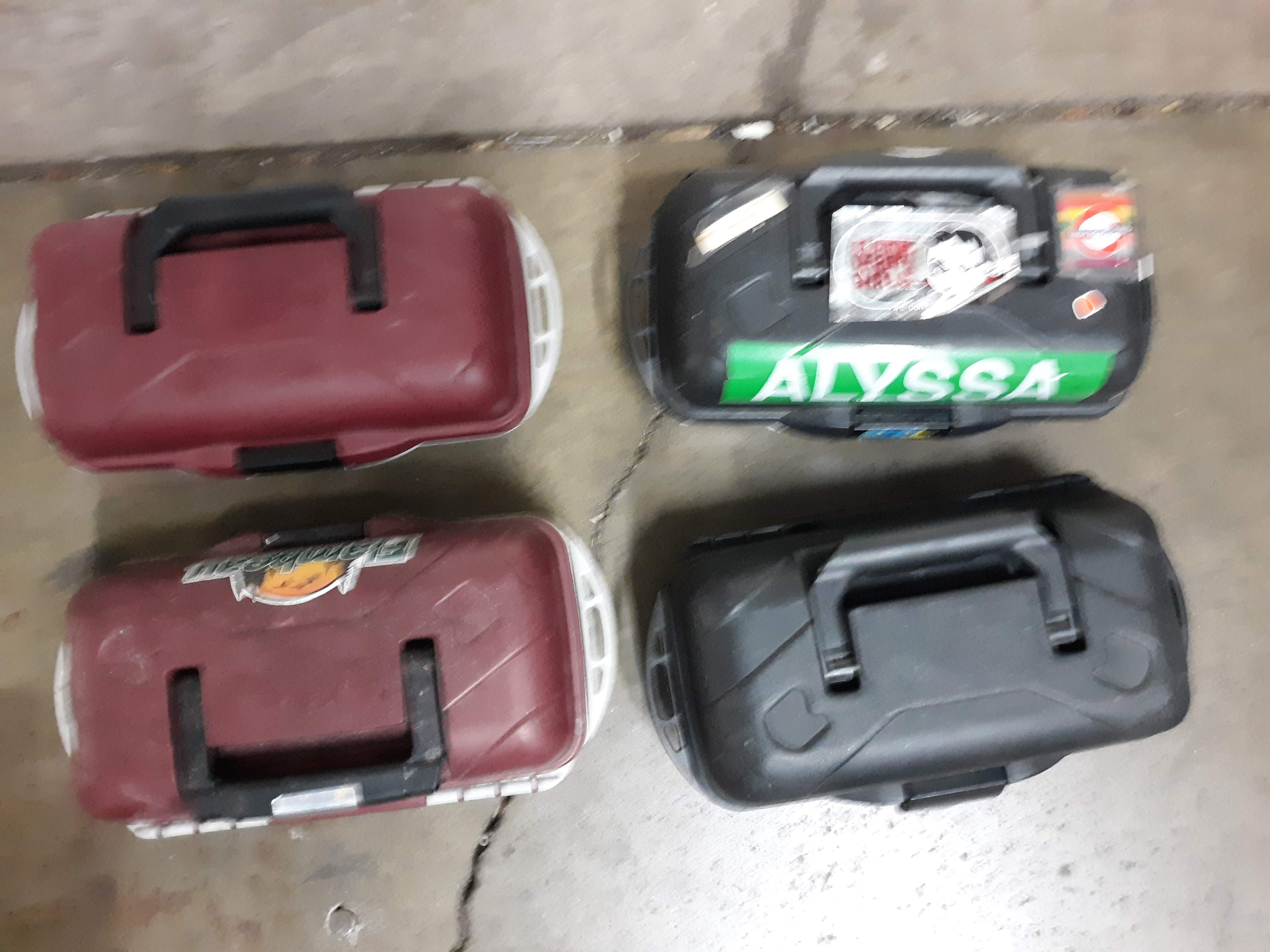 (4) PLASTIC TOOL BOX/ TACKLE BOXES (LOCATED AT: 432 COUNCIL DRIVE, FORT WAYNE, IN 46825) - Image 2 of 3