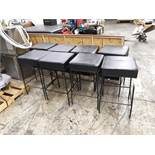 "(8) SQUARE PADDED BAR STOOLS 16"" X 16"" X 30"" TALL (LOCATED AT: 433 COUNCIL DRIVE, FORT WAYNE, IN"