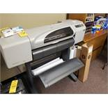 """HP DESIGN JET 500 24"""" COLOR PLOTTER (LOCATED AT: 16335 LIMA ROAD BLDG. 4 HUNTERTOWN, IN 46748)"""