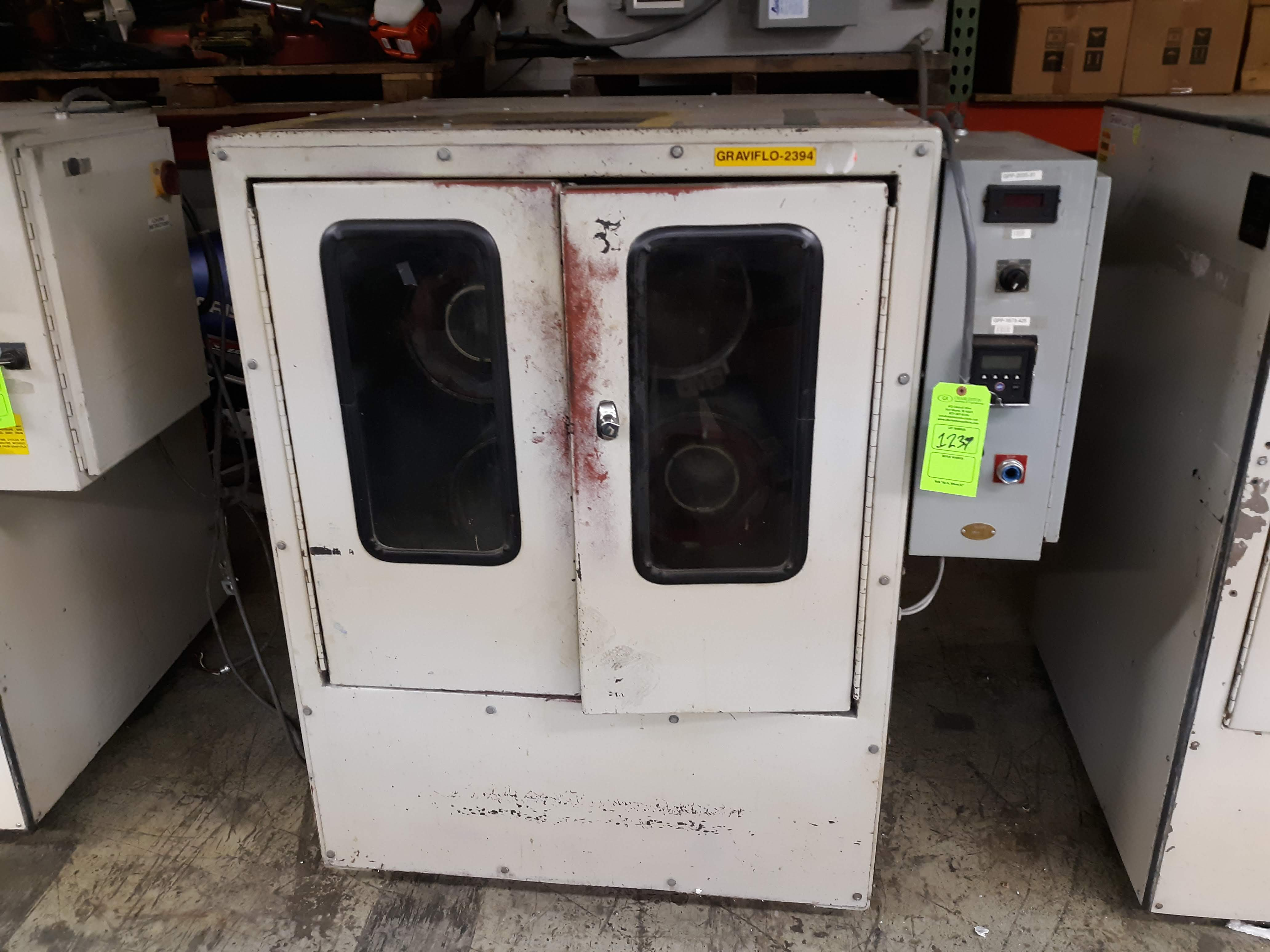 Lot 1237 - GRAV-I-FLO CENTRIFUGAL BARRELL FINISHING MACHINE (NO ID TAG) (LOCATED AT: 433 COUNCIL DRIVE, FORT